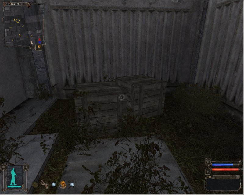 F1 grenade and Droplets artifact in wodden crates (Click image or link to go back)