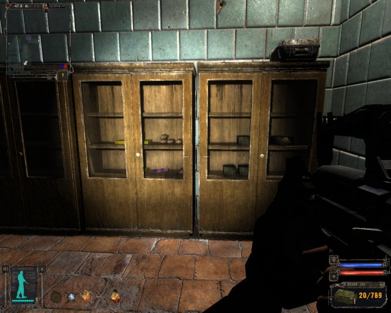 Cupboards with loot (Click image or link to go back)