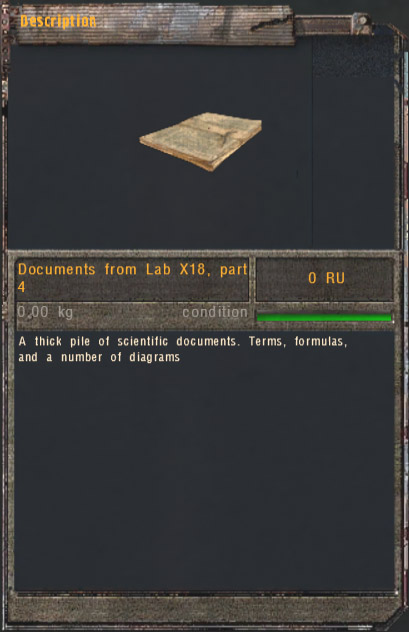 Documents from Lab X18 (Click image or link to go back)