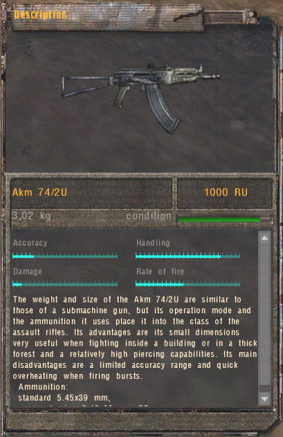 Akm 74/2U (Click image or link to go back)