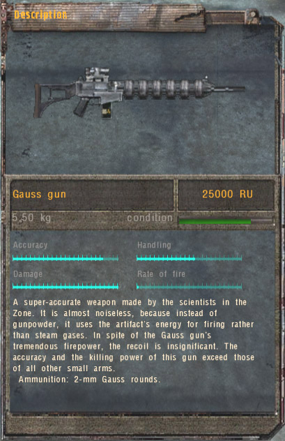 Gauss Gun (Click image or link to go back)
