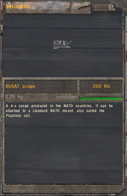 SUSAT Scope (Click image or link to go back)