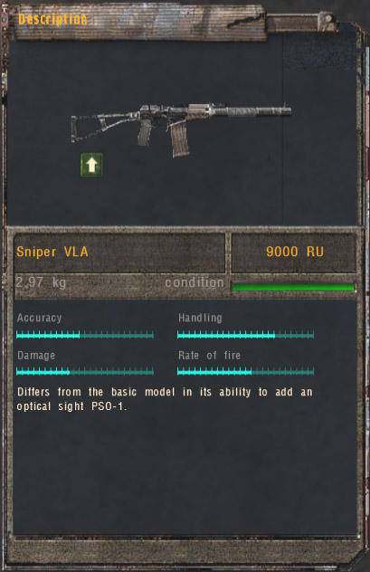 Sniper VLA (Click image or link to go back)