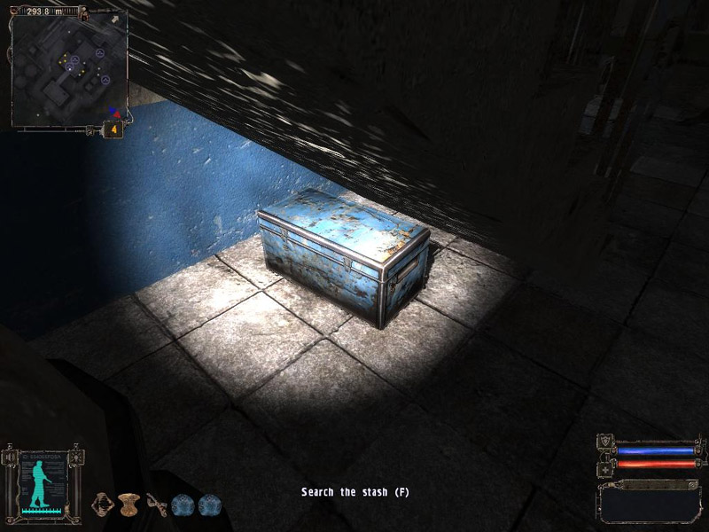 Stash: Chest in the stairwell (Click image or link to go back)