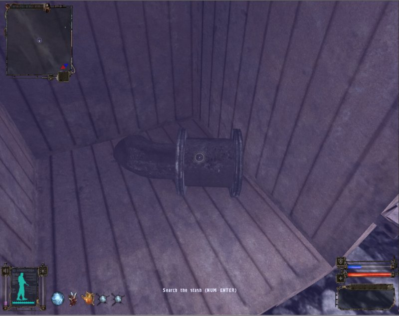 Stash: Container in the train car (Click image or link to go back)