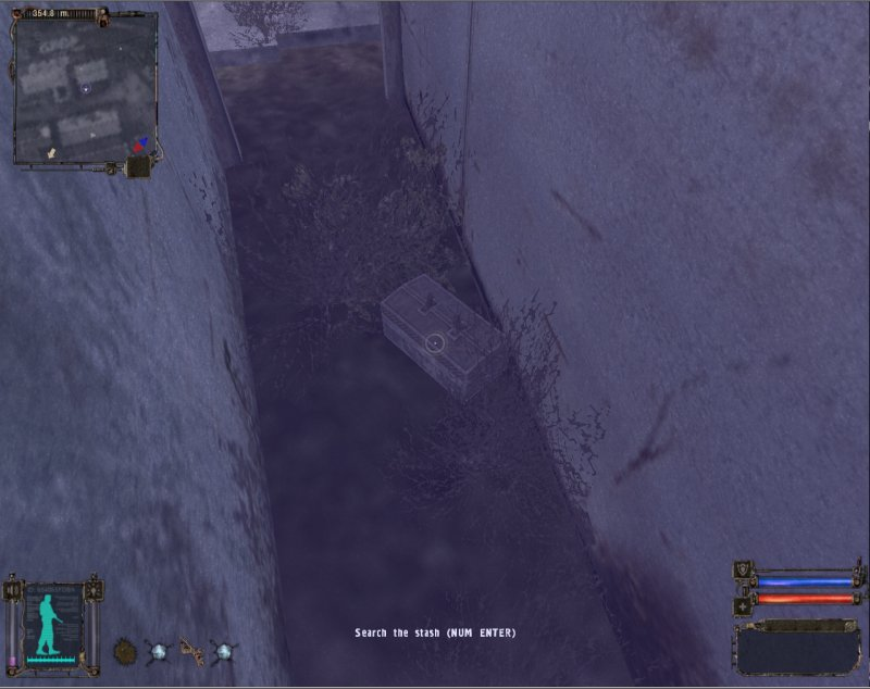 Stash: Chest in a safe spot (Click image or link to go back)