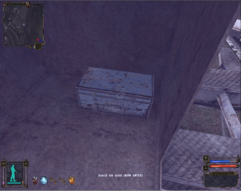 Stash: Chest in the crane (Click image or link to go back)