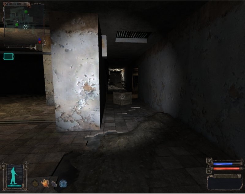 Hallway with burner Anomalies (Click image or link to go back)