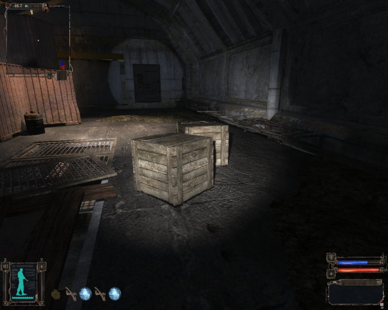 Wooden crates (Click image or link to go back)